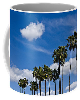 Palm Trees In San Diego California No. 1661 Coffee Mug by Randall Nyhof