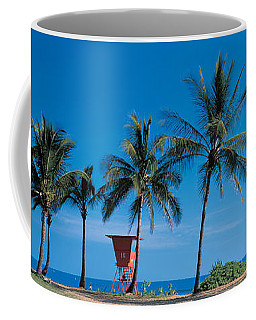 Palm Trees Oahu Hi Usa Coffee Mug