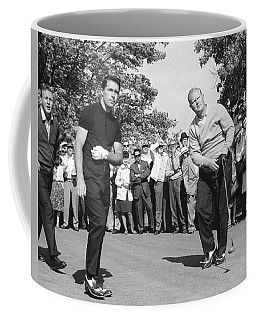 Palmer, Player And Nicklaus Coffee Mug