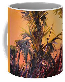 Palmettos At Dusk Coffee Mug