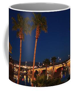 Palms At London Bridge Coffee Mug