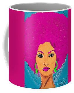 Pam Grier Bold Diva C1979 Pop Art Coffee Mug