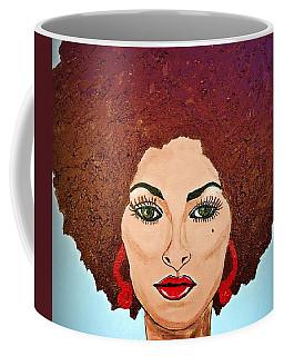 Pam Grier C1970 The Original Diva Coffee Mug