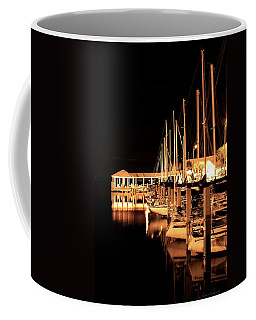 Panama City Marina Coffee Mug by Debra Forand