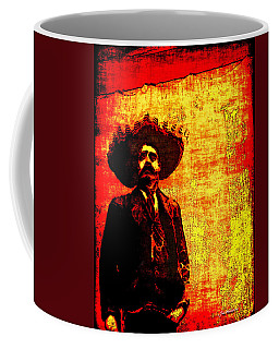 Pancho Villa Coffee Mug by Joan  Minchak