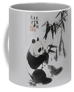 Panda And Bamboo Coffee Mug