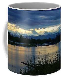 Pano Denali Midnight Sunset Coffee Mug