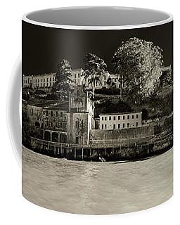 Panorama Alcatraz Up Close Coffee Mug