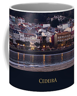 Panorama Of Cedeira Galicia Spain Coffee Mug