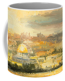 Panorama Of Jerusalem Coffee Mug