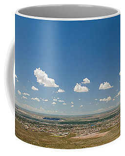 Panorama View Of West El Paso Coffee Mug