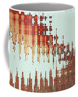 Panoramic City Reflection Coffee Mug
