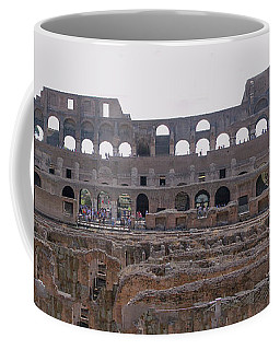 Panoramic View Of The Colosseum Coffee Mug