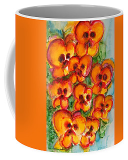 Pansies Love Us Coffee Mug