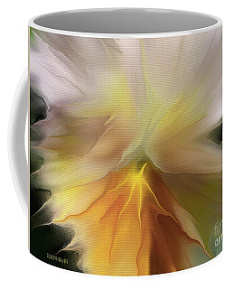 Pansy Art Coffee Mug