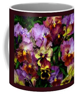 Pansy Mania Coffee Mug