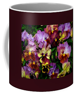 Pansy Mania Coffee Mug
