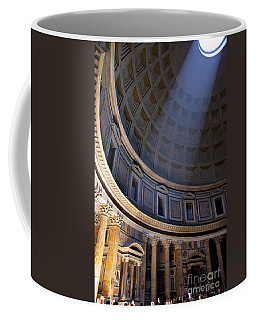 Coffee Mug featuring the photograph Pantheon Interior by Brian Jannsen