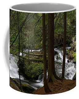 Panther Creek Panorama- Washington Coffee Mug