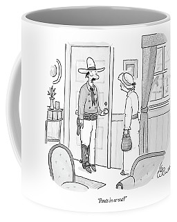 Pants In Or Out? Coffee Mug
