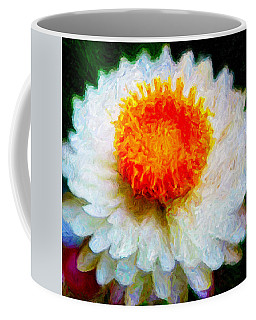 Paper Daisy Coffee Mug