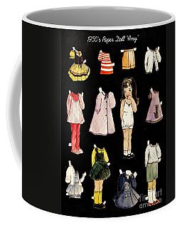 Paper Doll Amy Coffee Mug