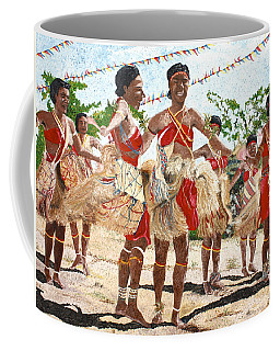 Papua New Guinea Cultural Show Coffee Mug