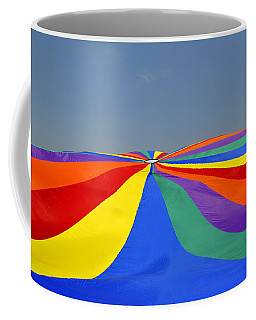 Parachute Of Many Colors Coffee Mug