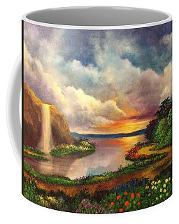 Paradise And Beyond Coffee Mug by Randy Burns