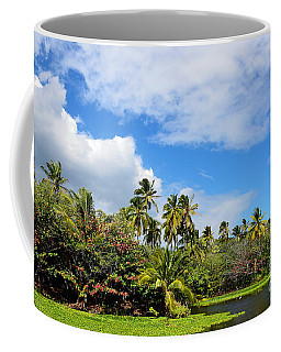 Paradise Lagoon Coffee Mug by David Lawson