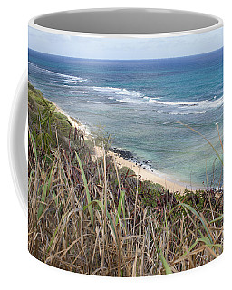 Coffee Mug featuring the photograph Paradise Overlook by Suzanne Luft