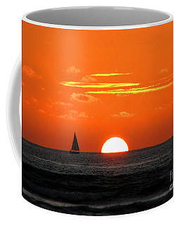 Paradise Sunset Sail Coffee Mug