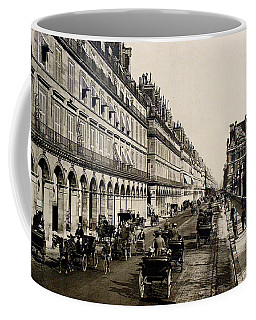 Paris 1900 Rue De Rivoli Coffee Mug