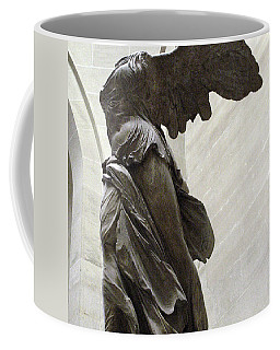 Paris Angel Louvre Museum- Winged Victory Of Samothrace Coffee Mug