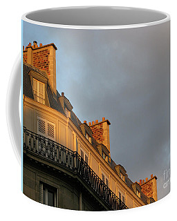 Paris At Sunset Coffee Mug by Ann Horn