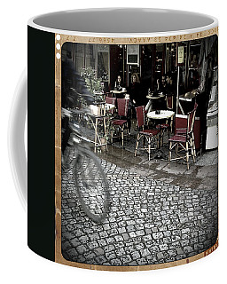 Paris Cafe Retro Coffee Mug