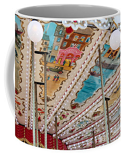 Coffee Mug featuring the photograph Paris Carousel by Glenn DiPaola