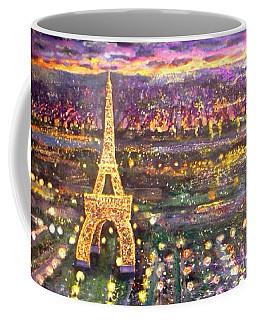Paris City Of Lights Coffee Mug