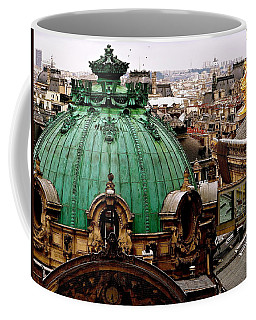 Paris Drizzles Coffee Mug