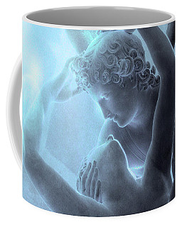 Eros And Psyche Louvre Sculpture - Paris Eros And Psyche Romance Lovers  Coffee Mug