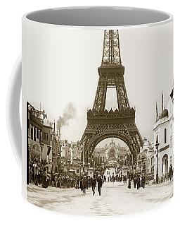 Paris Exposition Eiffel Tower Paris France 1900  Historical Photos Coffee Mug