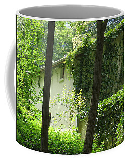 Paris - Green House Coffee Mug by HEVi FineArt