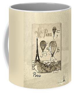 Paris In Sepia Coffee Mug