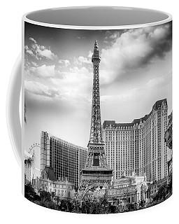 Coffee Mug featuring the photograph Paris Las Vegas by Howard Salmon