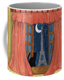 Paris Moonlight Coffee Mug