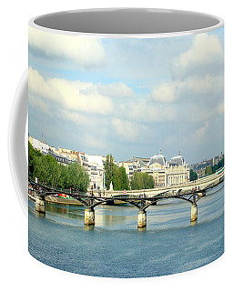 Paris On The Seine Coffee Mug by Kay Gilley