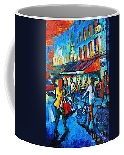 Parisian Cafe Coffee Mug