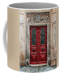 Parisian Door No.82 Coffee Mug
