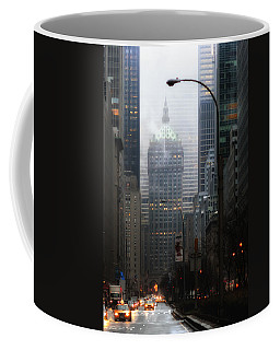 Park Avenue Dawn In Color Coffee Mug