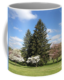 Coffee Mug featuring the photograph Cedar Beach Park  by Jeannie Rhode